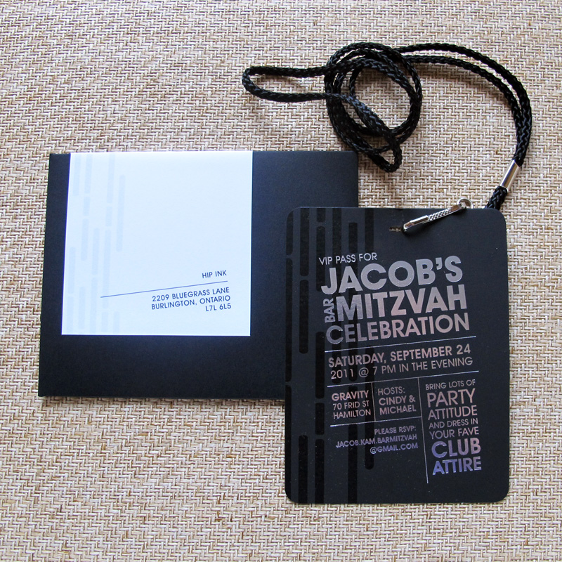 from the studio cool neutral and modern bar mitzvah invitations